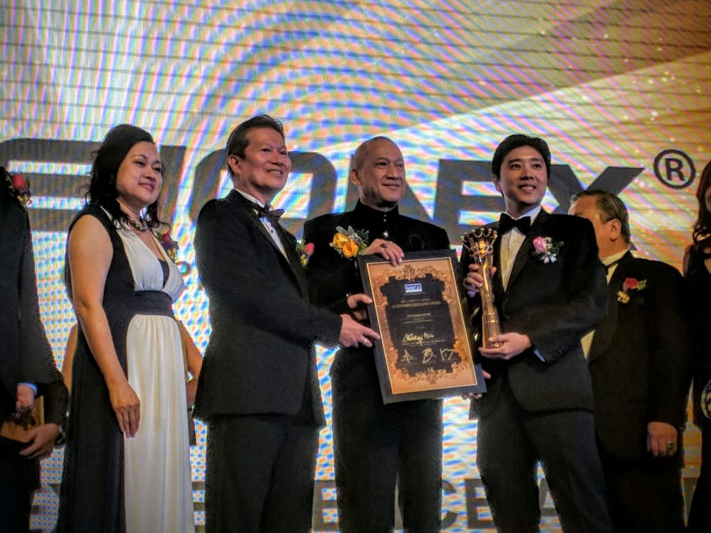 Fusionex recognized for 'Outstanding Excellence' at MRCA Crown Awards 2016