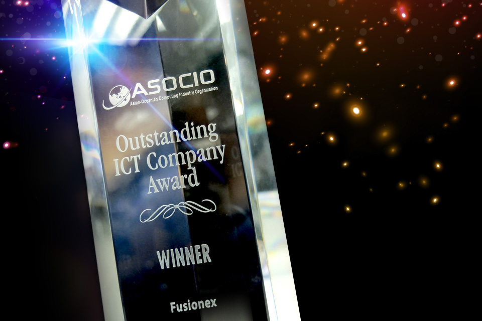 Fusionex Honoured As The Most Outstanding ICT Company In Asia-Oceania (ASOCIO)