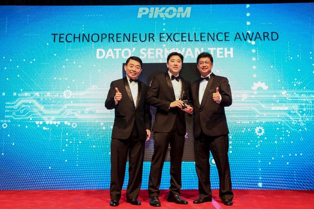 Fusionex CEO receives Technopreneur of Excellence Title