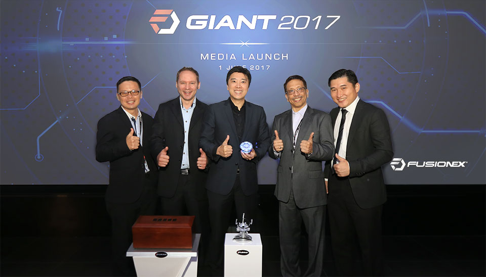 Fusionex Launches Enhanced Simplified GIANT 2017