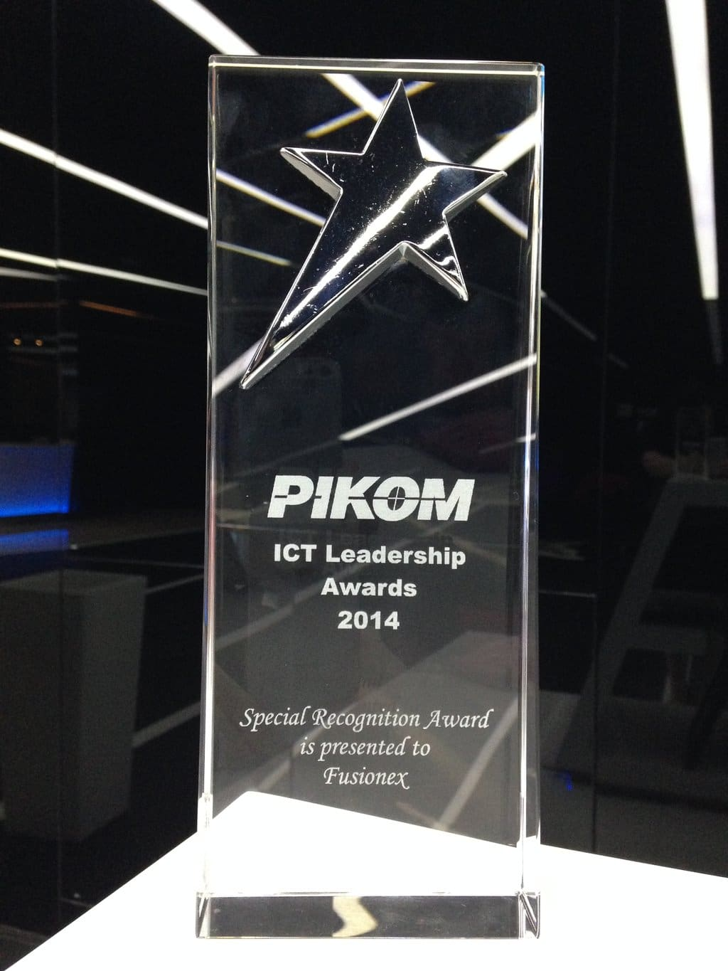 Special Recognition for Fusionex at the PIKOM ICT Leadership Awards 2014
