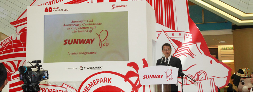 Sunway Launches New Loyalty Programme Powered by Fusionex