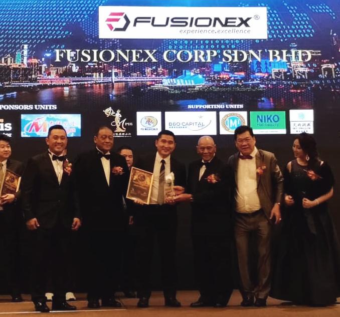 Fusionex accorded Premium International Business Award 2018