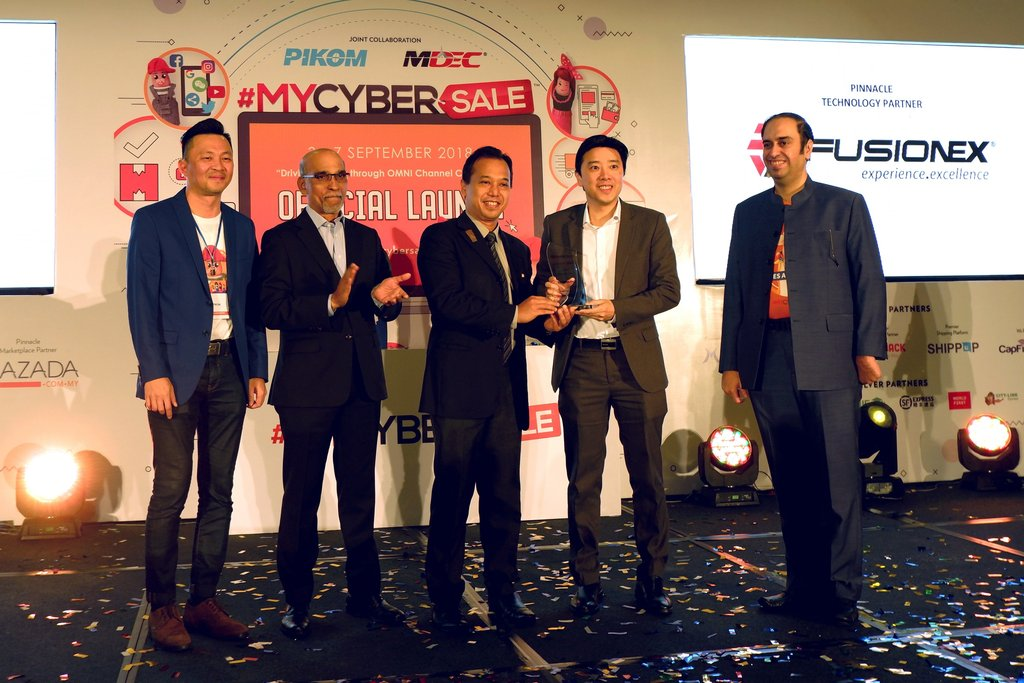 Fusionex Powers Up Technology Platform for #MYCYBERSALE 2018