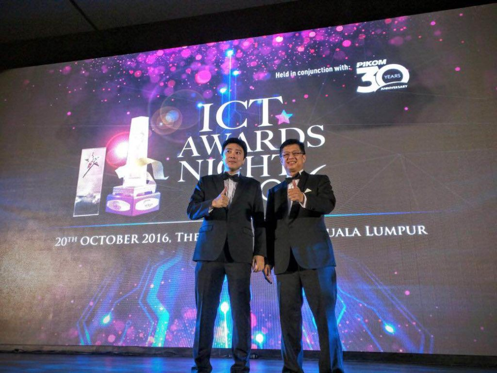 Fusionex wins Leadership Excellence Award from National ICT Association of Malaysia
