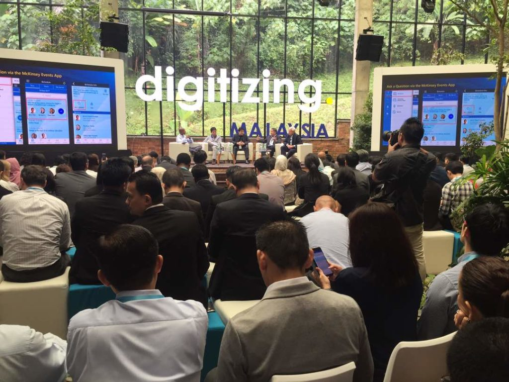 McKinsey Forum 'digitizing.Malaysia'