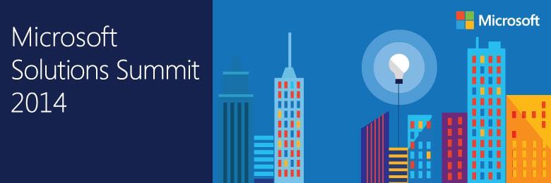 Microsoft Solutions Summit 2014