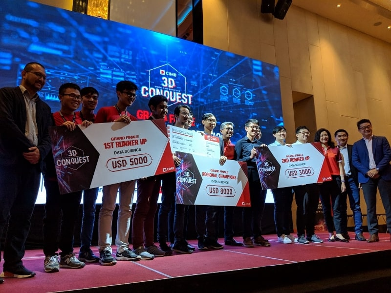 Fusionex supports CIMB hackathon to cultivate passion for technology in students