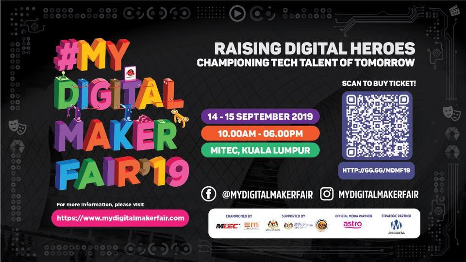 #MyDigitalmaker Fair 2019
