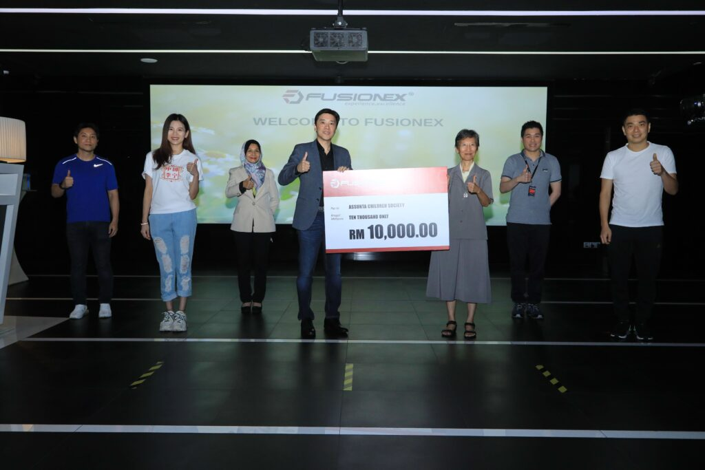 Fusionex donates to Assunta Children Society to help underprivileged youngsters