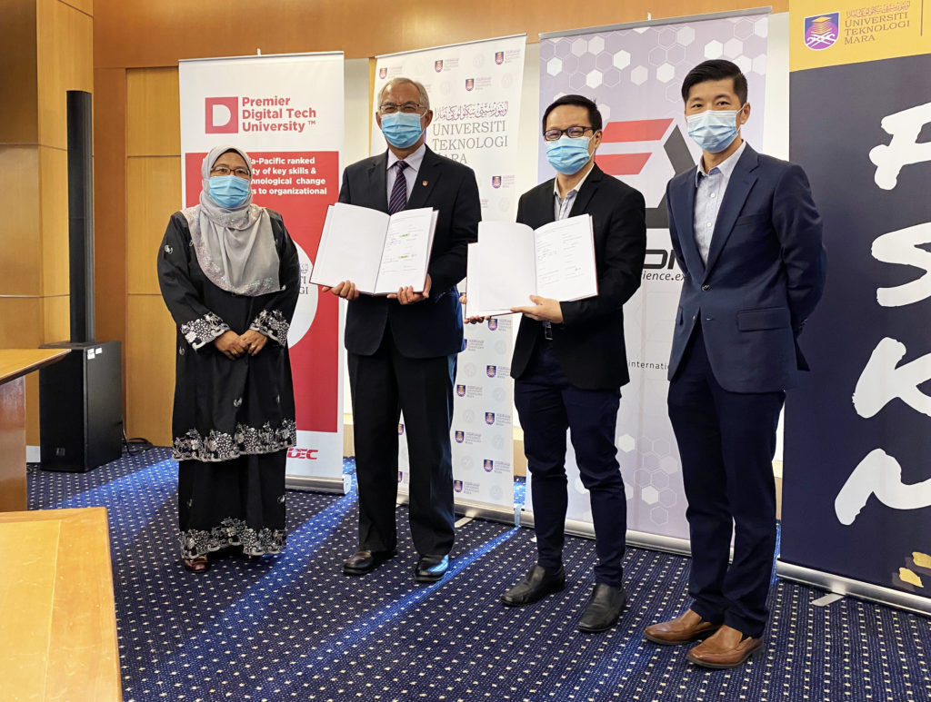 UiTM Signs MOU with Fusionex on AI and Big Data Analytics